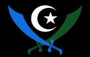 Islamic Republic of Karradan Vehicular Insignia with Background