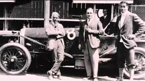 Car Racing 1920-1930 (Bentley, Mercedes-Benz)