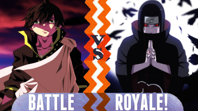 File:Battle Royale Zeref Dragneel vs Itachi Uchiha.png