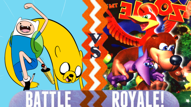 File:Finn and Jake vs Banjo Kazooie.PNG