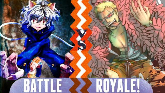 File:Battle Royale Neferpitou vs Donquixote Doflamingo.png