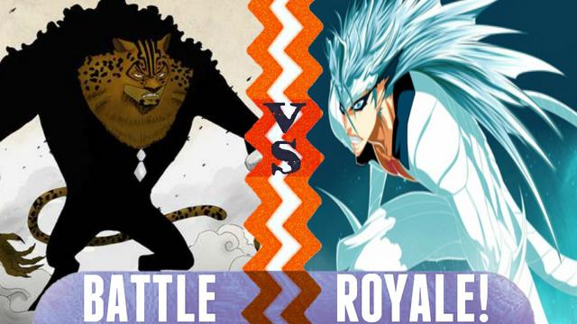 File:Battle Royale Rob Lucci vs Grimmjow Jaegerjaquez.png