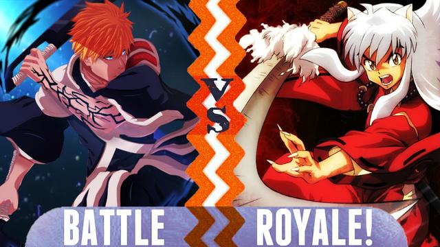 File:Battle royale ichigo kurosaki vs inuyasha by yellowflash1234-da918ra.png