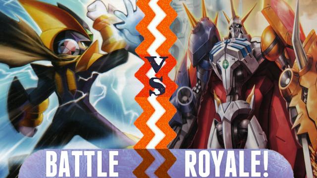 File:Battle Royale Bass Cross MegaMan vs Omnimon.png