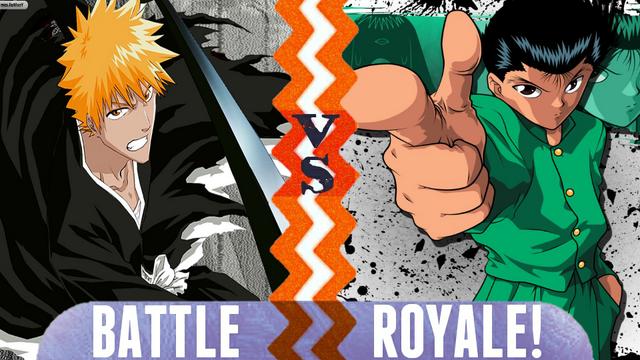 File:Battle Royale Ichigo Kurosaki vs Yusuke Urameshi.png