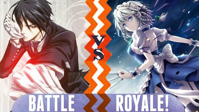 File:Battle Royale Sebastian Michaelis vs Sakuya Izayoi.png