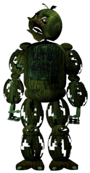 The return to freddy s 3 chica png by thesitcixd-d8sstd3