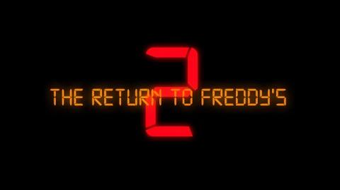 The Return To Freddy's 2 Official Trailer