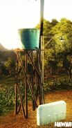 Kampung Negeri Sawah (small indestructable water tower)
