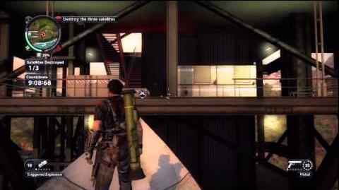 Just Cause 2 - Faction Mission - Fry Me to the Moon
