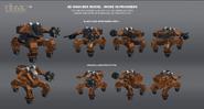 JC3 Mech Land Assault mech models