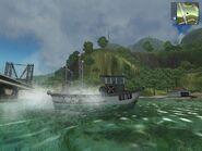 Trawler, fishing version, side view.