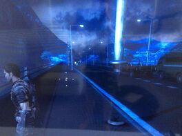 Light pole glitch360