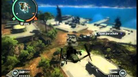 Just Cause 2 - Kem Pulau Kerbau - military harbor