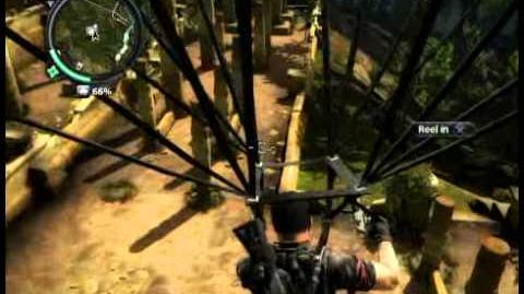 Just Cause 2 - Rajang Temple - civilian village