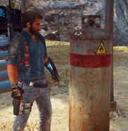 JC3 small gas tank