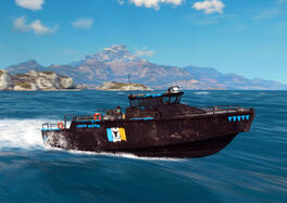 JC3 CS Powerrun 77 boat