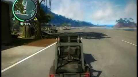 Just Cause 2 Deserted base