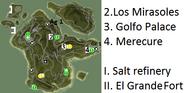 Settlements in Aguilar