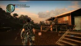 Just Cause 2- Faction Mission- Helicopter Hangaround 01