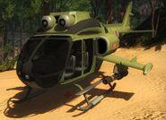 UH-10 Chippewa (no rotor glitch)