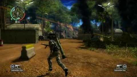 Just Cause 2- settlement completion- Hutan Dalam