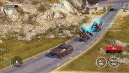 JC3 SAM train with bavarium tank