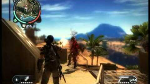 Just Cause 2 - Pekan Ular Sawa - military base