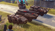 Imperator Bavarium Tank, CS Odjur and CS Baltdjur comparison