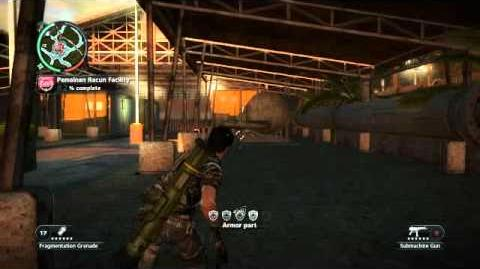 Just Cause 2- settlement completion- Pemainan Racun Facility