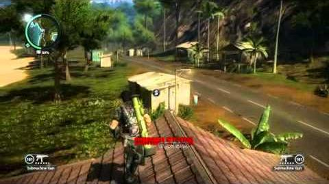 Just Cause 2- settlement completion- Tasik Jernih