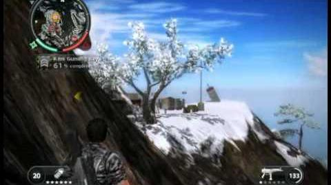 Just Cause 2 - Kem Gunung Raya - military base