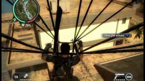 Just Cause 2 - Kem Sungai Floodgates - military base