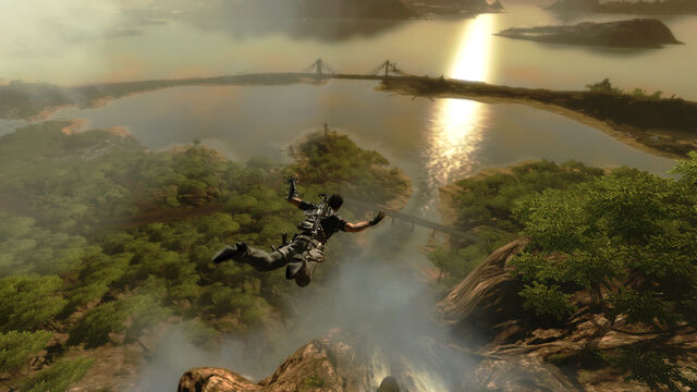 File:Panau Falls (evening skydiving).jpg