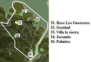 Provincia de los Guererros Settlements