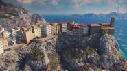 Just cause 3 cliff village