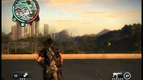 Just Cause 2 - Fully upgraded SMG (power demo)