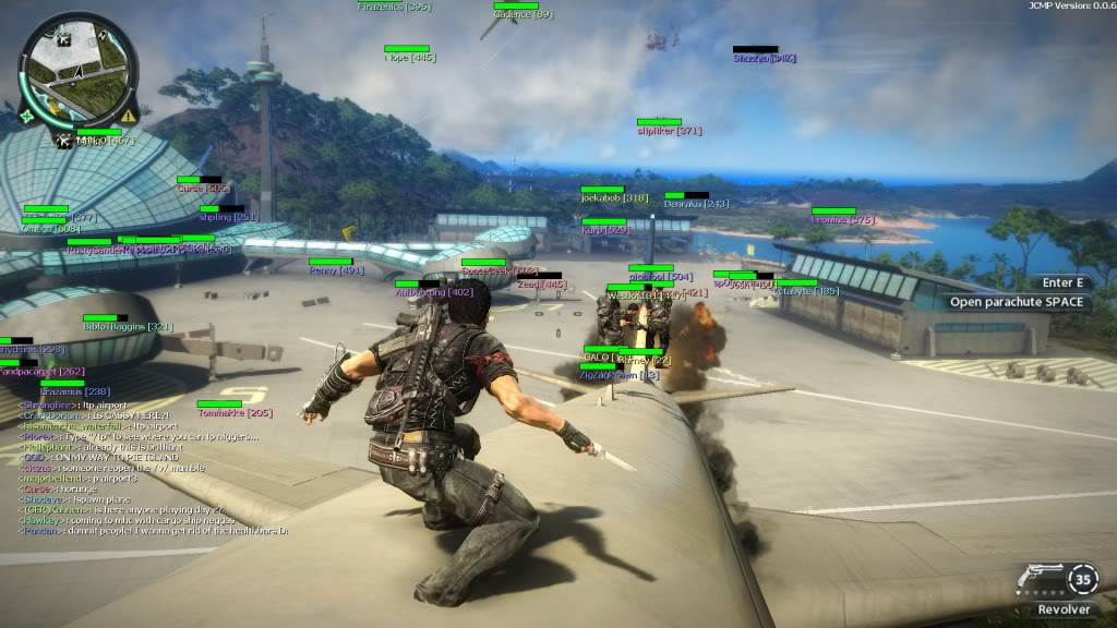 how to create a just cause 3 server