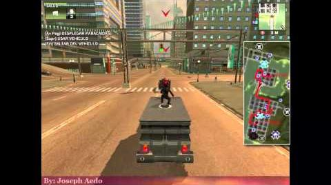 """(HD) Travel """"Meister ATV 4 (Black Hand)"""" mission Streets of Fire Calles de fuego - Just Cause 1"""