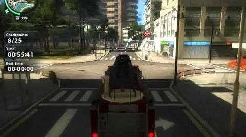 Just Cause 2 Challenge Emergency Call