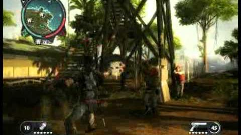 Just Cause 2 - Kem Kapitan Mohideen - military base