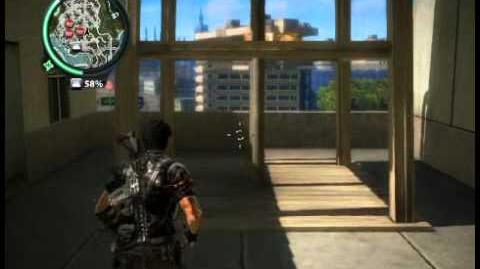 Just Cause 2 Water tower glitch