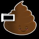 Poop skin