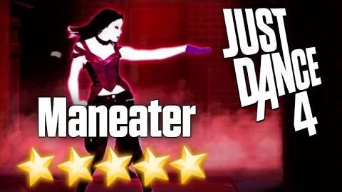 Just Dance 4 - Maneater - 5 stars