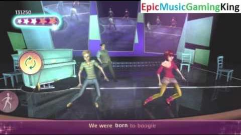 """Dance on Broadway Gameplay - """"We Were Born To Boogie"""" - High Score Of 25,500 Points"""