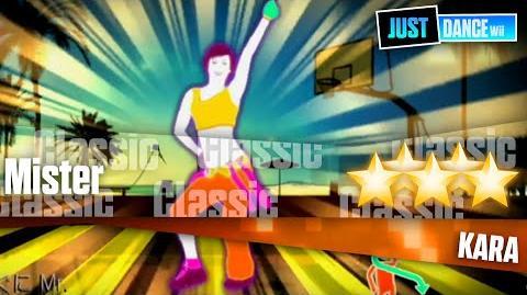 Mister - KARA - Just Dance Wii