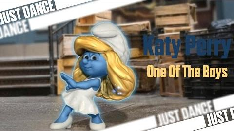 One Of The Boys - Katy Perry Smurfs Dance Party