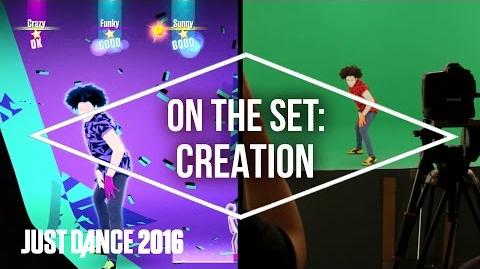 On the Set with Just Dance 2016 Creation