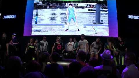 Just Dance Now gameplay @ Gamescom 2014