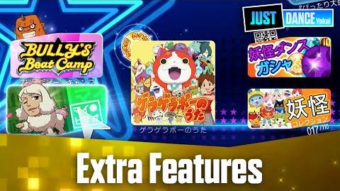 Extra Features - Quick Look Just Dance Yokai Watch